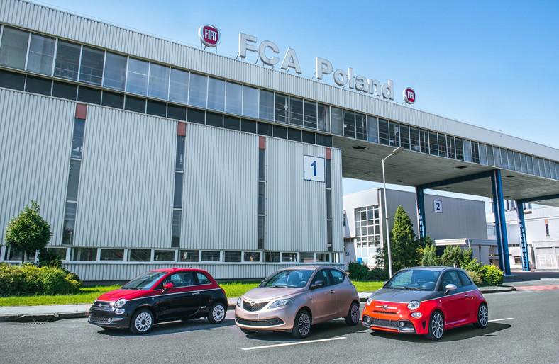 Fiat 500, Lancia Ypsilon i Abarth 500