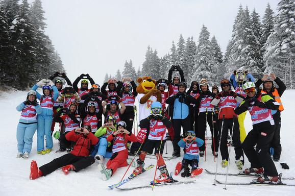 Na humanitarnoj trci učestvovalo 95 skijaša