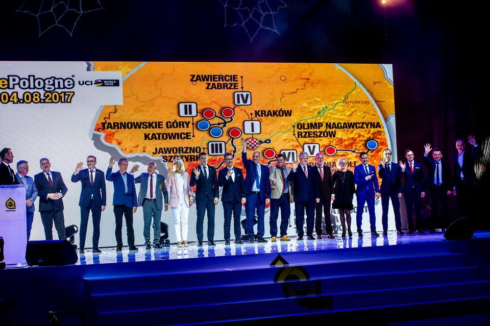 Prezentacja trasy Tour de Pologne
