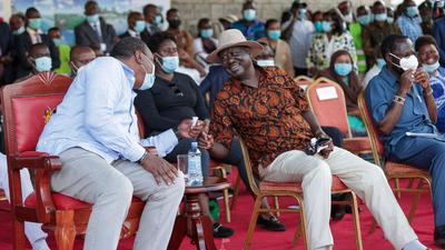 Uhuru, Raila and 5 other prominent politicians' names missing from IEBC verified BBI signatures list