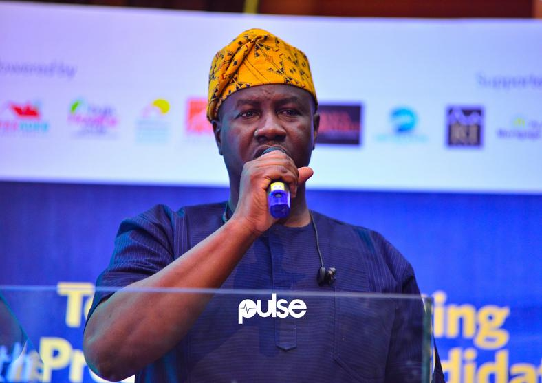Babatunde Gbadamosi of the ADP had a good debate night (Pulse)
