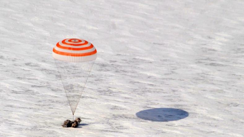 Kapsuła rosyjskiego statku kosmicznego Sojuz