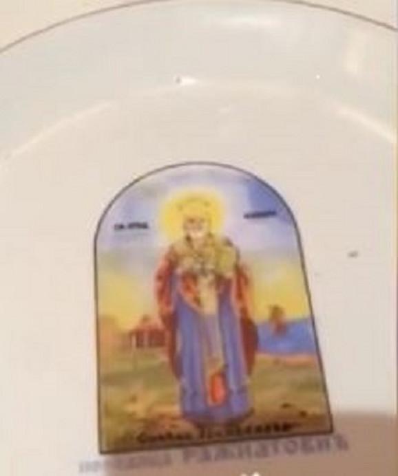 Detalji na Cecinoj slavi