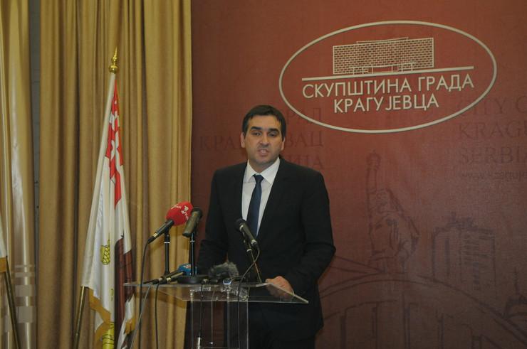 Radomir Nikolić, gradonačelnik Kragujevca