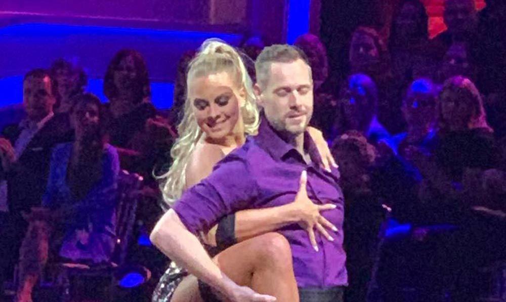 A Dancing with the Stars színpadán pofozta fel férjét Deutsch Anita - túl forró lett a tangó - fotók