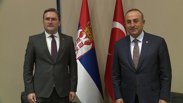 Nikola Selaković i Melvut Čavušoglu u Antaliji