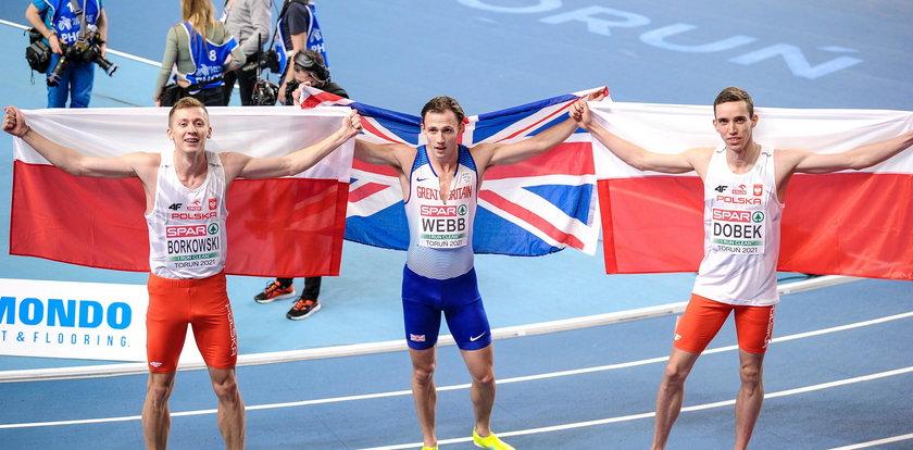 Patryk Dobek halowym mistrzem Europy na 800 m. Złoto i srebro dla Polski!