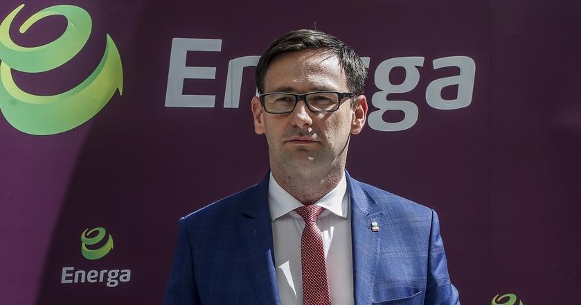 Daniel Obajtek - od 2017 r. prezes Energi, do 2015 r. wójt gminy Pcim