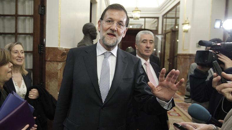 Premier Hiszpani Mariano Rajoy