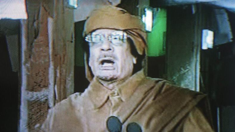 Po przemówieniu Kadafiego zaczęli strzelać do tłumu