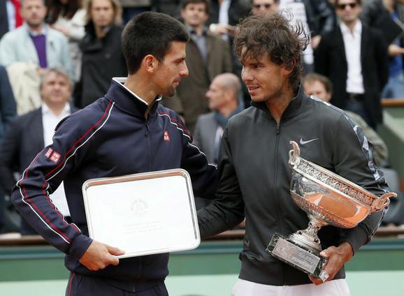 Novka Đoković i Rafael Nadal