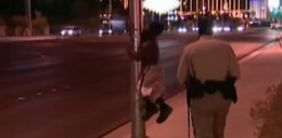 Karzeł ucieka przed policjantem!