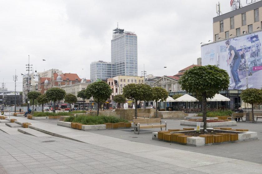 Katowice: miejsce dla upamiętnienia Lecha i Marii Kaczyńskich