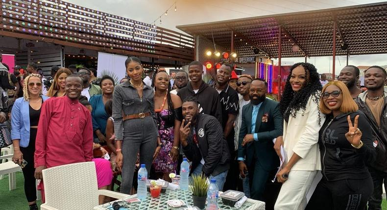 A cross section of Nigerian influencers at the Pulse Influencer Awards [Pulse]