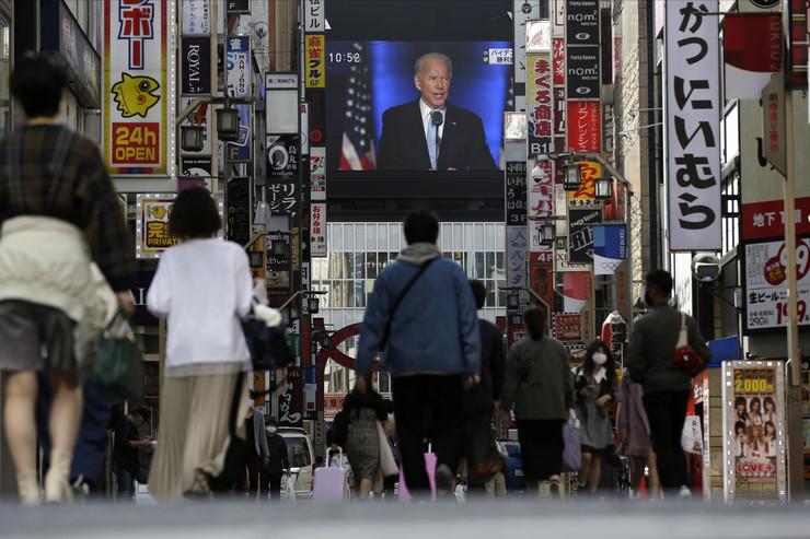 Bajdenov predsednički govor pratili su i u Japanu