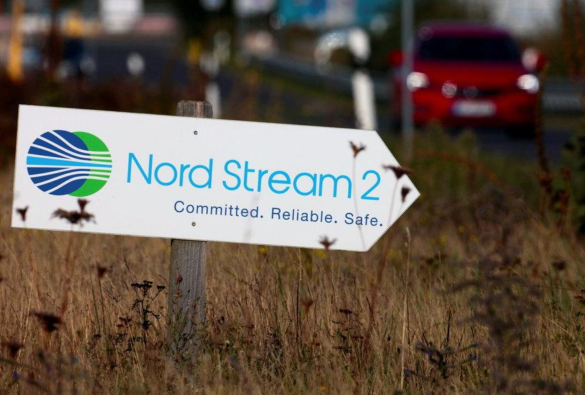 Ursula von der Leyen o gazociągu Nord Stream 2