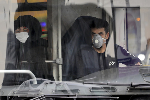 Korona virus u Iranu