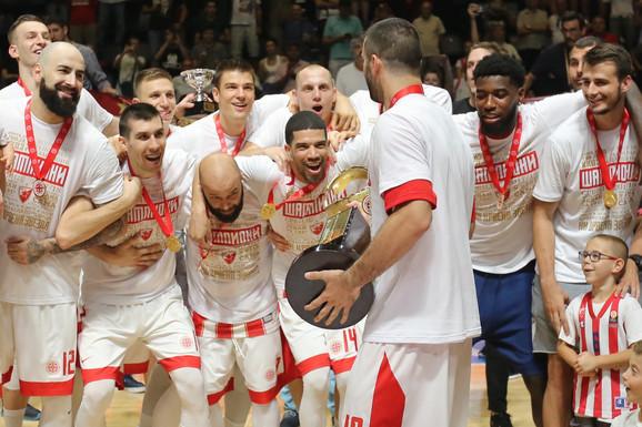 Košarkaši Zvezde su odbranili titulu
