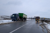 Kamion se prevrnuo u Šapcu