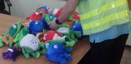 Amator maskotek Świeżaków w rękach policji
