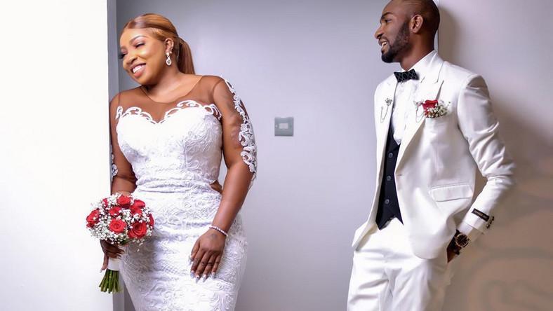 Surprise, surprise as Anita Joseph has shared photos from her wedding to Michael Fisayo aka MC Fish on Instagram page. [Instagram/AnitaJoseph8]