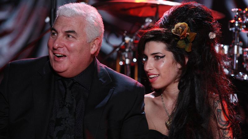 Amy Winehouse i jej ojciec
