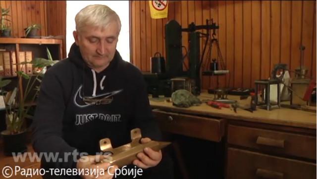 Saša Čolak, šef stanice i majstor