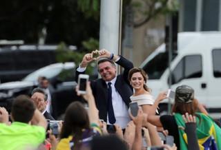 Skrajnie prawicowy Jair Bolsonaro zaprzysiężony na prezydenta Brazylii