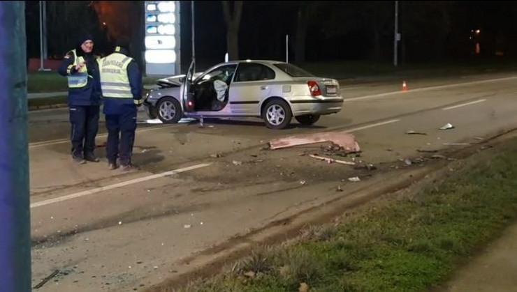 Novi Sad, saobraćajna nesreća 2