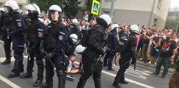 Parada równości w Białymstoku. Plucie i atakowanie ludzi