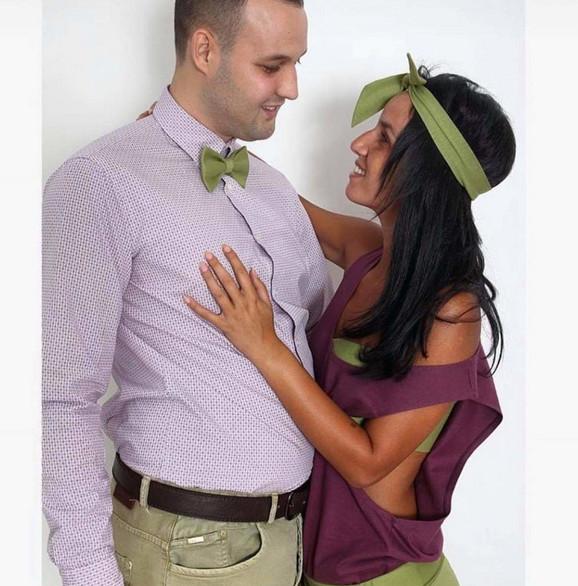 Tijana sa suprugom