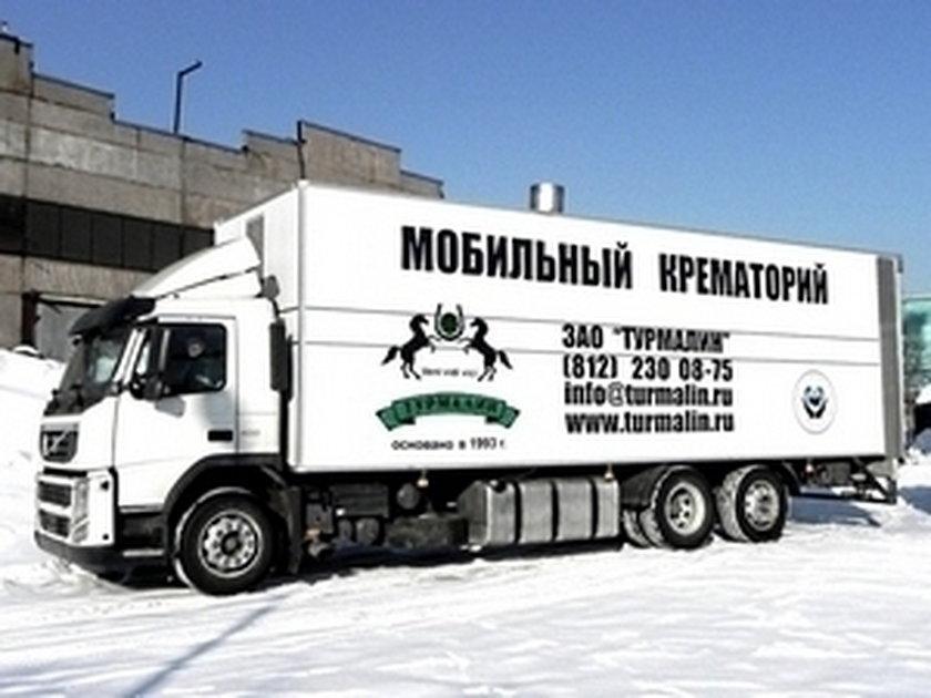 Rosyjskie krematoria na Ukraine