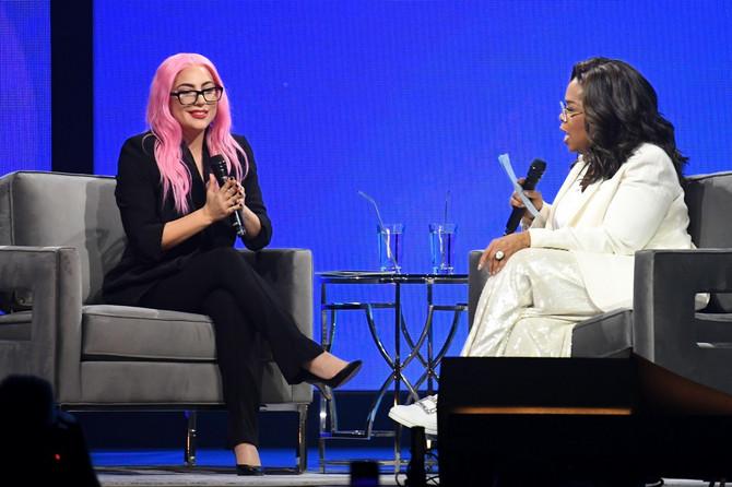 Lejdi Gaga u razgovoru sa Oprom Vinfri na Floridi