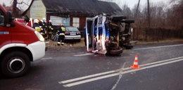 Groźny wypadek w Kucinach
