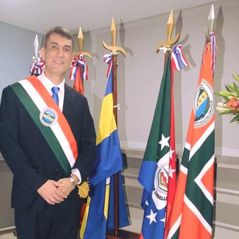 Gubernator Paragwaju Ronald Acevedo