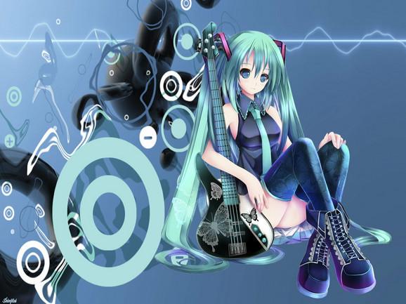 Hacune Miku, zelenokosa virtuelna pop senzacija iz Japana