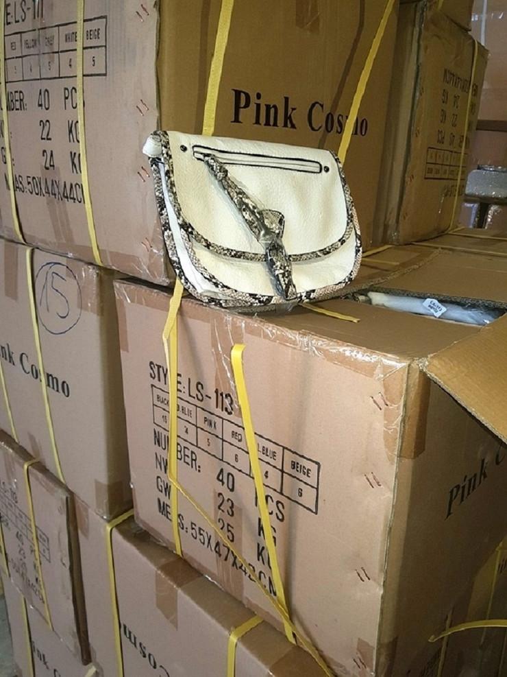Šid, zaplena 16.000 ženskih torbi, krijumčarenje, granični prelaz