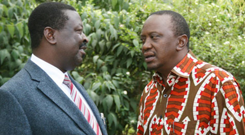 Uhuru sends tongues wagging after talks with Mudavadi
