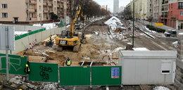 Szczątki na budowie metra
