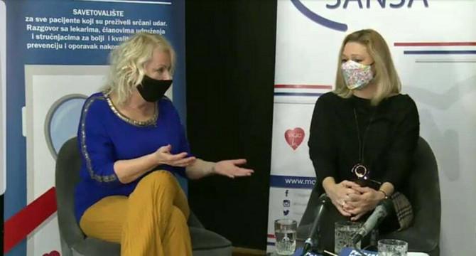 Učesnici su ovog puta bili doktorka Sonja Bugarski Dimić, kardiolog u Institutu za kardiovaskularne bolesti u Sremskoj Kamenici i nutricionista Milka Raičević