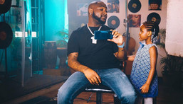 Davido and his daughter Imade Adeleke [Instagram/Davido]