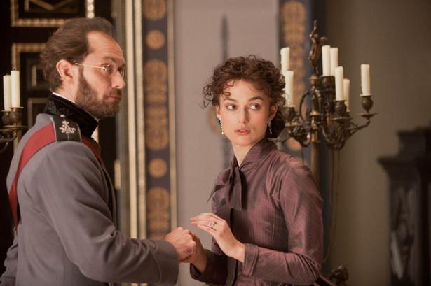 "Jude Law i Keira Knightley w filmie ""Anna Karenina"""