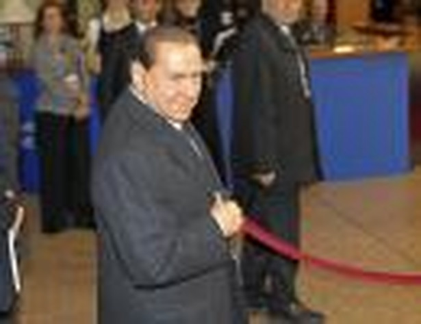 Premier Włoch Silvio Berlusconi
