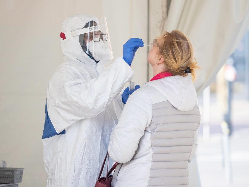 Kupili w Polsce fałszywe wyniki testów na koronawirusa