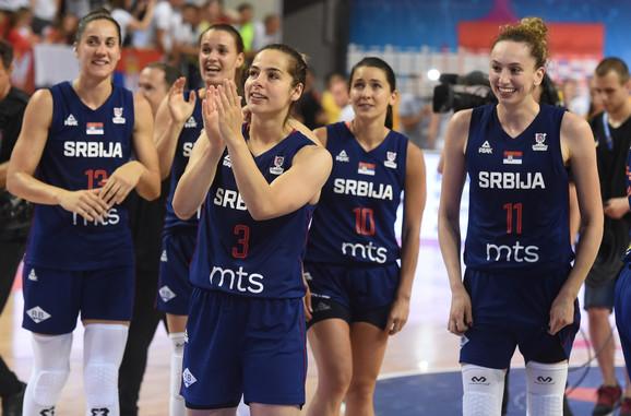 Košarkašice Srbije su se našla na udaru Milice Dabović