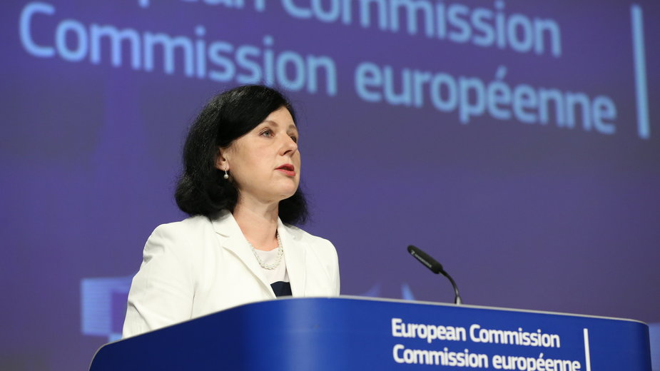 Wiceprzewodniczącą Komisji Europejskiej Vera Jourova