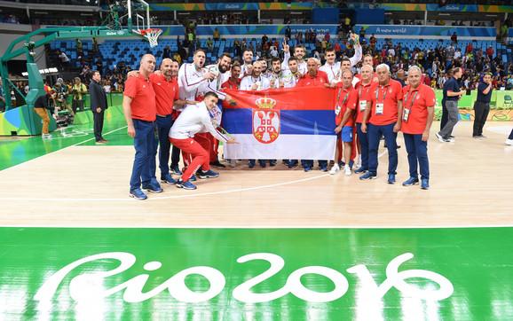 Košarkaška reprezentacija Srbije u Riju 2016. godine