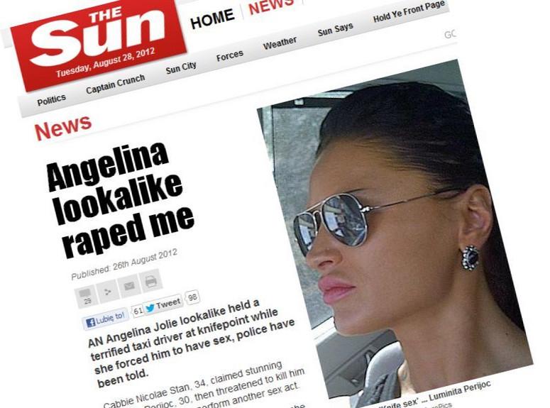 Angelina Jolie Sex oralny