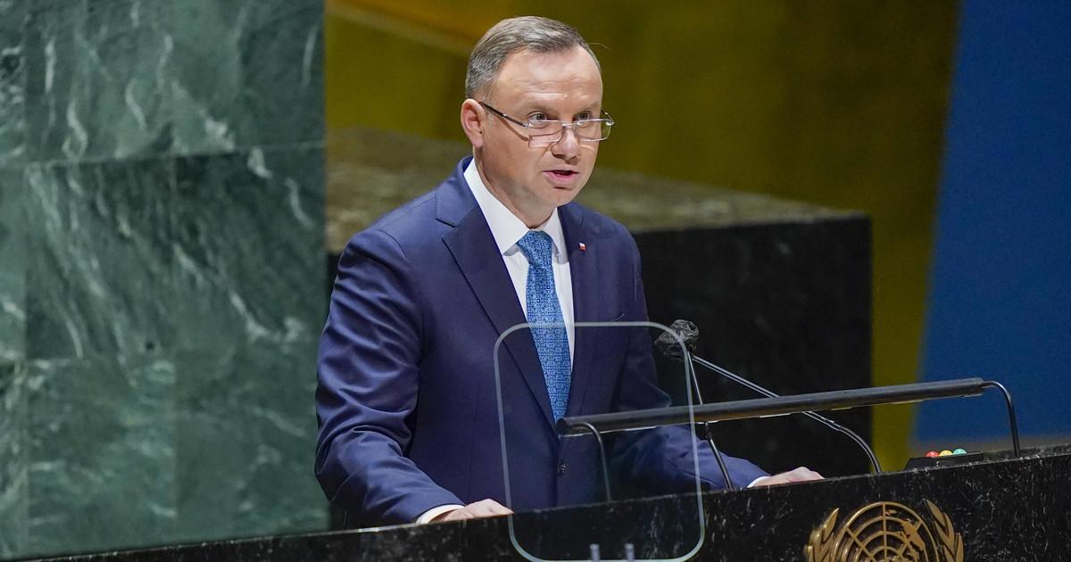 ONZ: przemówienie Andrzeja Dudy podczas Zgromadzenia Ogólnego - Wiadomości - Onet