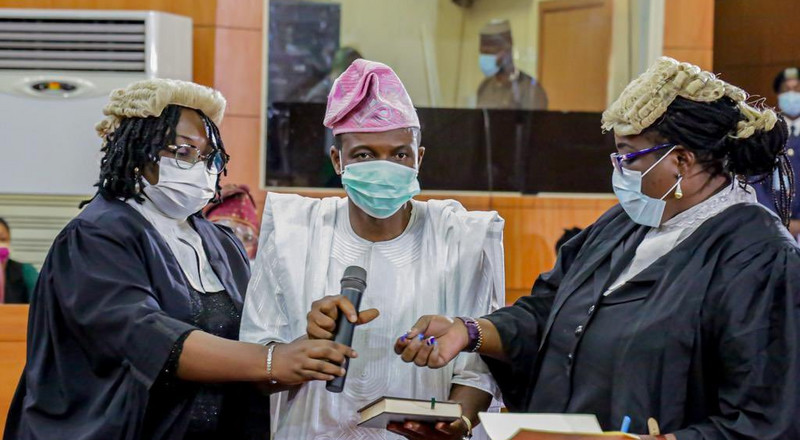 Lagos Assembly swears in new lawmaker
